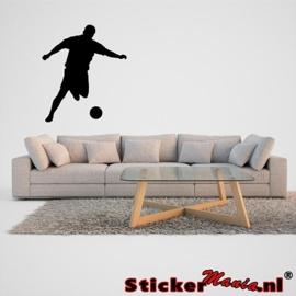 Muursticker voetbal 7
