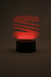 Seat logo led lamp