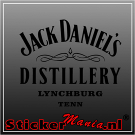 Jack daniels distillery sticker