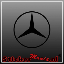 Mercedes ster 2 sticker