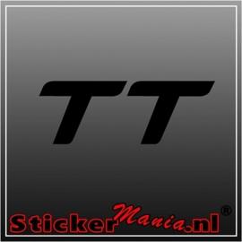 Audi TT sticker