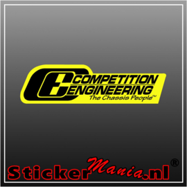 Competition Engineering Full Colour sticker