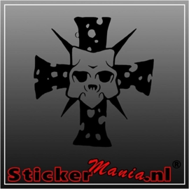 Skull 70 sticker