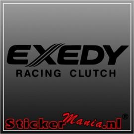 Exedy sticker