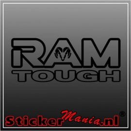 Ram tough sticker
