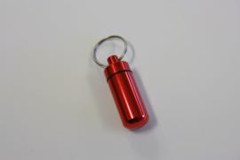 Waterdichte box sleutelhanger rood