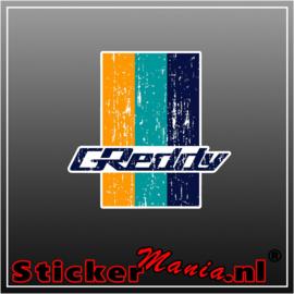 Greddy Full Colour sticker