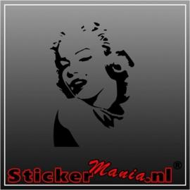 Marilyn monroe 2 sticker