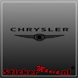 Chrysler sticker