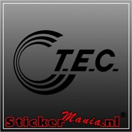 T.E.C. caravan sticker