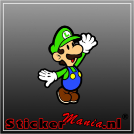 Luigi Full Colour sticker