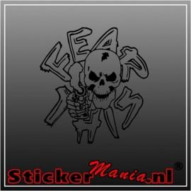 Skull 35 sticker