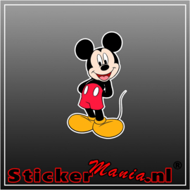 Mickey Mouse 2 Full Colour sticker
