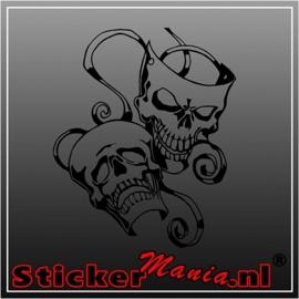 Skull 56 sticker