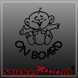 Baby on board 1 sticker