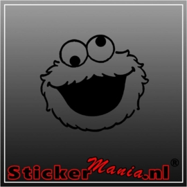 Koekiemonster 1 sticker
