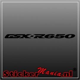 Suzuki GSX R650 sticker