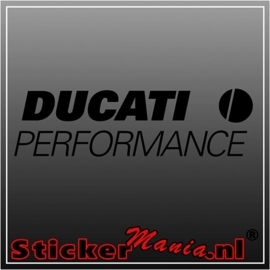 Ducati performance 2 sticker