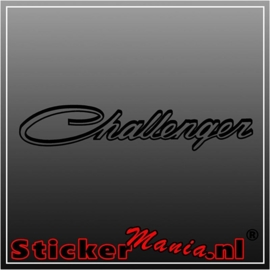 Dodge challenger 1 sticker