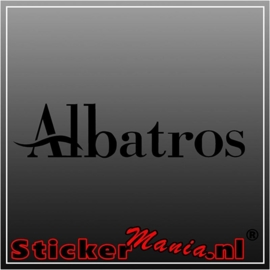 Albatros sticker