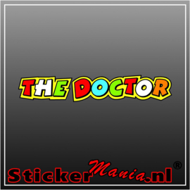 The docter 1 Full Colour sticker