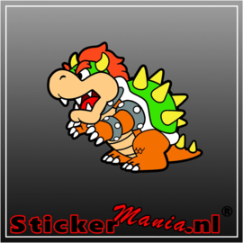 Bowser Full Colour sticker