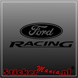 Ford racing 2 sticker