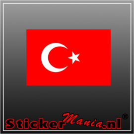 Turkije Full Colour sticker