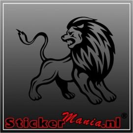 Leeuw 2 sticker