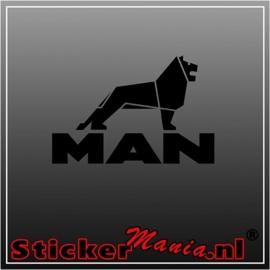 MAN 4 sticker