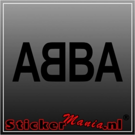 Abba sticker