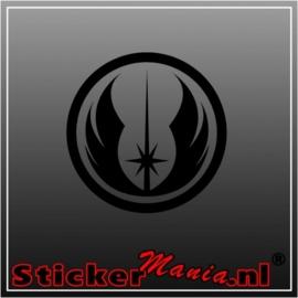 Jedi logo sticker
