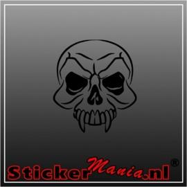 Skull 4 sticker