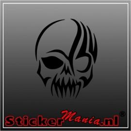 Skull 18 sticker