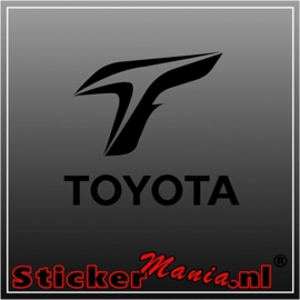 Toyota F1 sticker