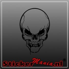 Skull 7 sticker