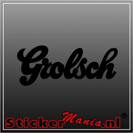 Grolsch sticker