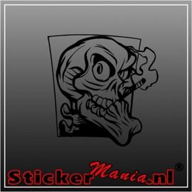 Skull 61 sticker