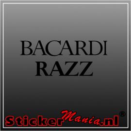 Bacardi Razz sticker