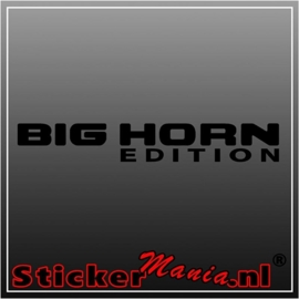 Dodge big horn edition sticker