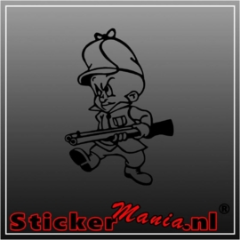 Elmer fudd sticker