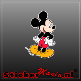 Mickey Mouse 3 Full Colour sticker