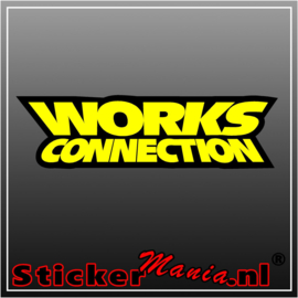 Works connection full colour sticker