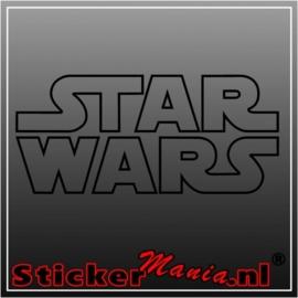 Star wars 1 sticker