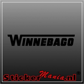 Winnebago caravan sticker