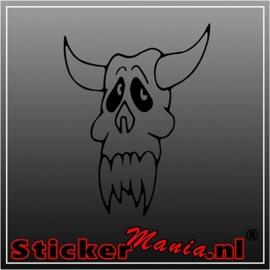 Skull 47 sticker