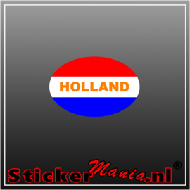 Holland Rood Wit Blauw Full Colour sticker