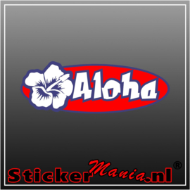 Aloha Full Colour sticker
