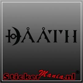 Daath sticker