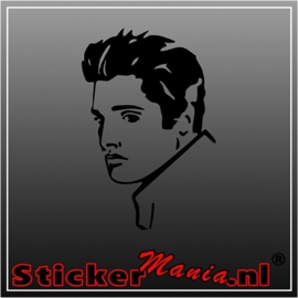 Elvis presley 3 sticker